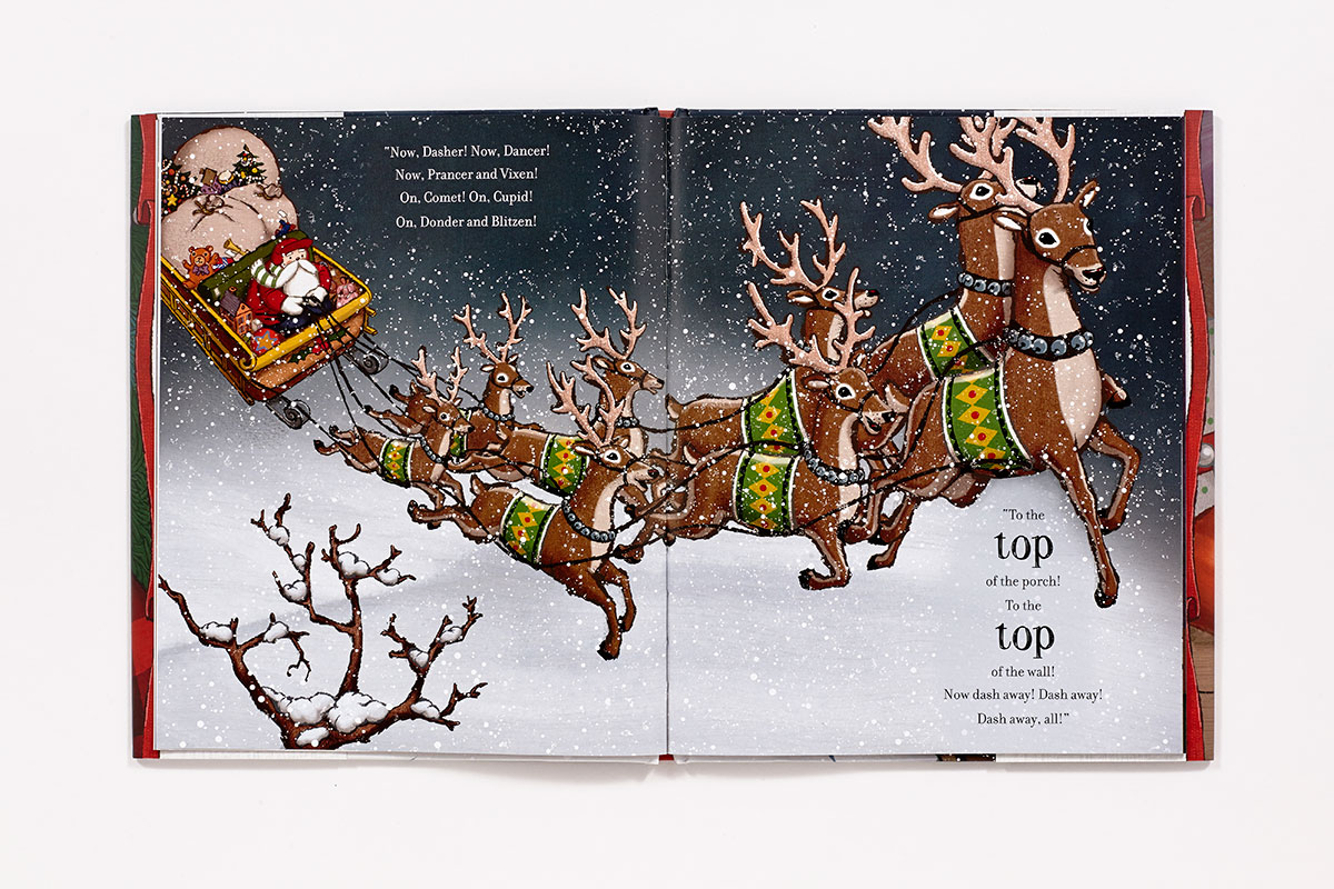 Twas The Night Before Christmas Hardcover