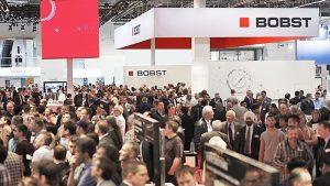 As vendas superaram as expectativas e os visitantes mostraram grande entusiasmo pelas soluções inovadoras da BOBST!