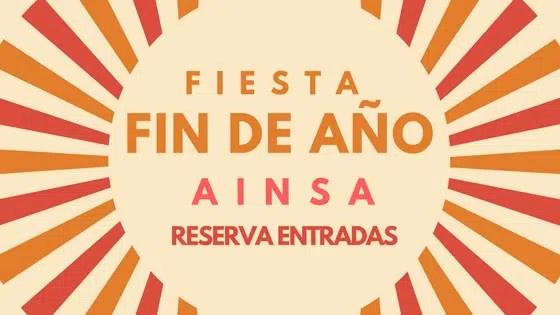 Reserva Entradas Fiesta Nochevieja Ainsa 2017-2018