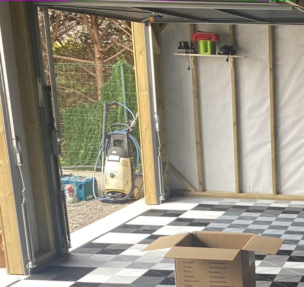isoler un abri de jardin bois sur dalle
