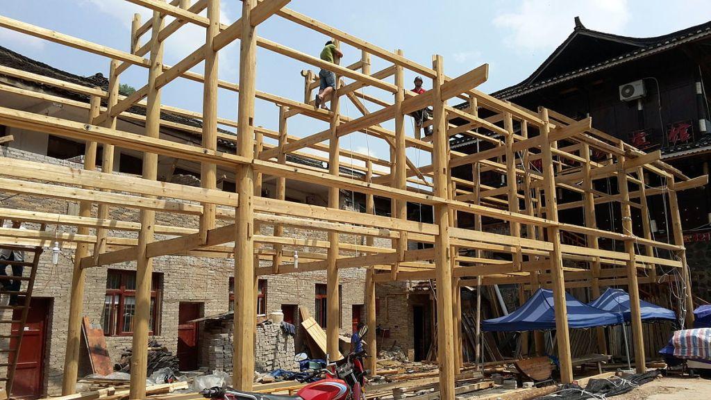 construction chalet en bois