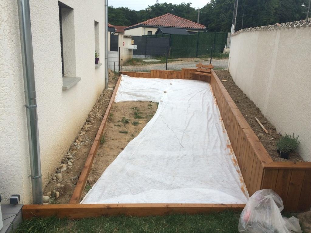 Idee De Terrasse En Beton Abri Jardin Bois France