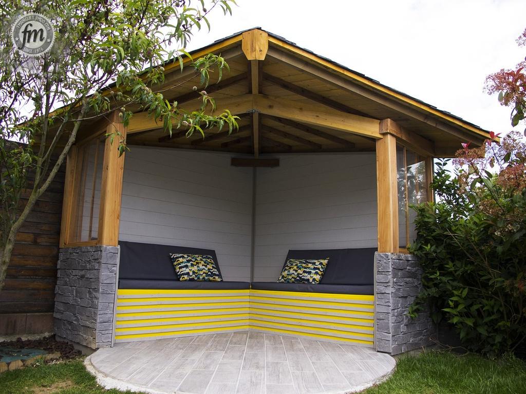 Toiture Pour Pergola - abri jardin bois France