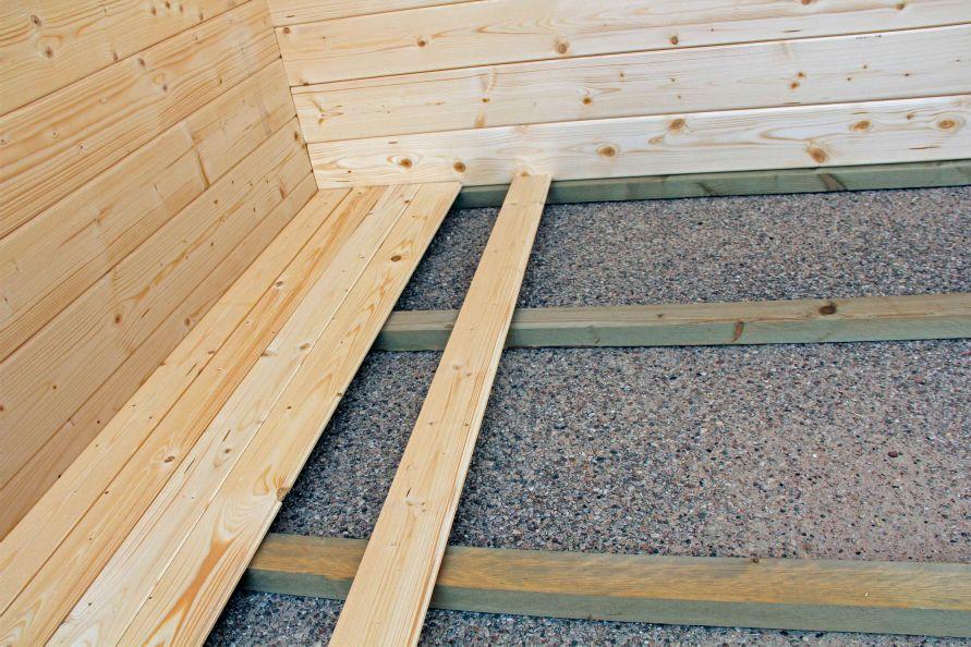 module plancher pour abri de 11 m