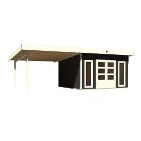 abri de jardin toit plat 10 m 40 mm