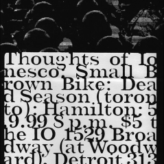 May 9th 1999 at The IO Cafe (Detroit, MI) Dead Season with Small Brown Bike, Thoughts of Ionesco and Hamilton. Photo courtesy of Travis Dopp