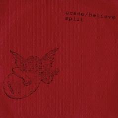 WR-001 Grade/Believe split CD, 1994. Red cover