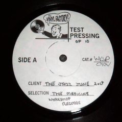 "WR-010 The Jazz June - The Medicine 2x12"", 2000. Canclled, only 10 test press exist"