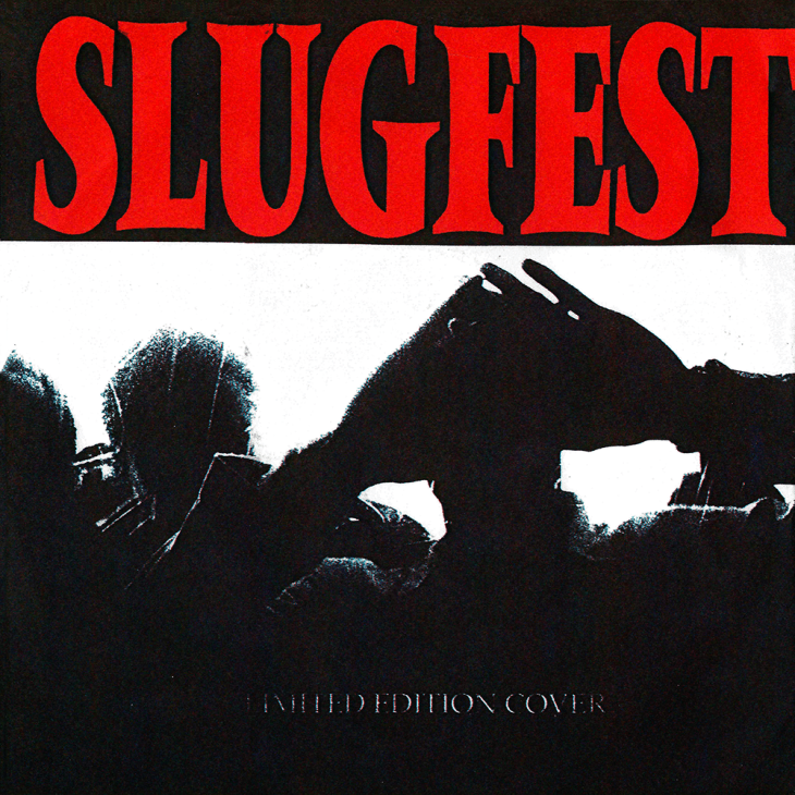 "Structure Records #3 - Slugfest ""Buried Alive"". Limited Edition Cover"
