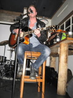 Chris Gray performing at Lou Dawgs on March 6th 2011