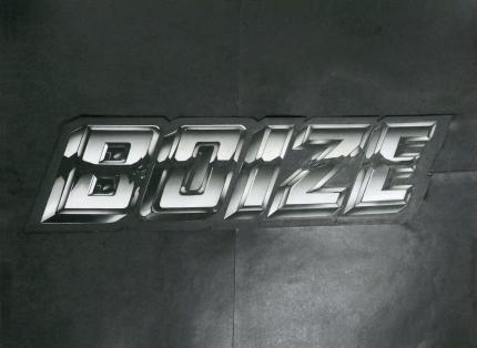 Original logo design for the Boize EP by Francois Da Fonseca.