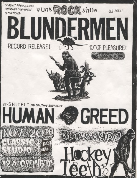 """Blunder on Bikini Island"" release show on November 20th 1993."