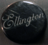 Ellington pin featuring the band's second logo.