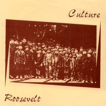 "Culture / Roosevelt split 7"" (Second press, 1996, Intention Records)"