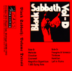 "C.A.S.S. Records 006º - ""Black Sabbath Volume Detroit"" compilation, tape, 1998"