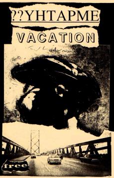 """Empathy Vacation"" fanzine, summer 1995"