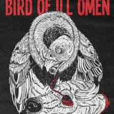 Bird of Ill Omen's reunion show t-shirt design by Kyle Borchgardt