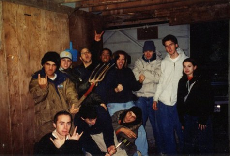 Bird of Ill Omen on their second tour, December 1997