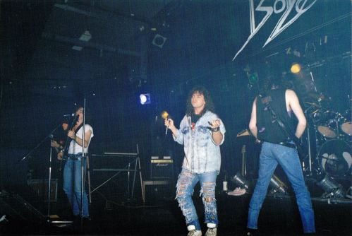 Boize performing live at Salle L'Intro, Montreal, Canada on May 26th 1990