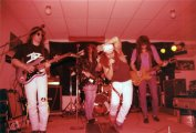 Boize performing live at Sam's Rock Bar, Saint-Leonard, Quebec, Canada on December 30th 1990.