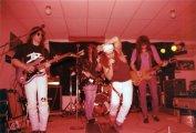 Boize performing live at Sam's Rock Bar, Saint-Leonard, Quebec, Canada on December 30th 1990.
