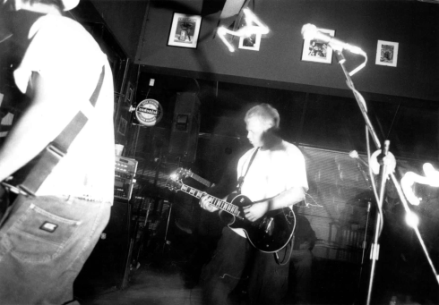 Dead Season at an unknown venue in St. Catharines, Ontario, circa 1998