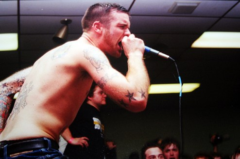 The Swarm at Michigan Fest, March 24th 2000. Photographer unknown.