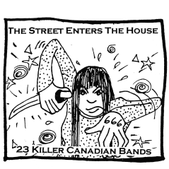 """The Street Enters the House"" compilation, Fans of Bad Productions Records, summer 2000"