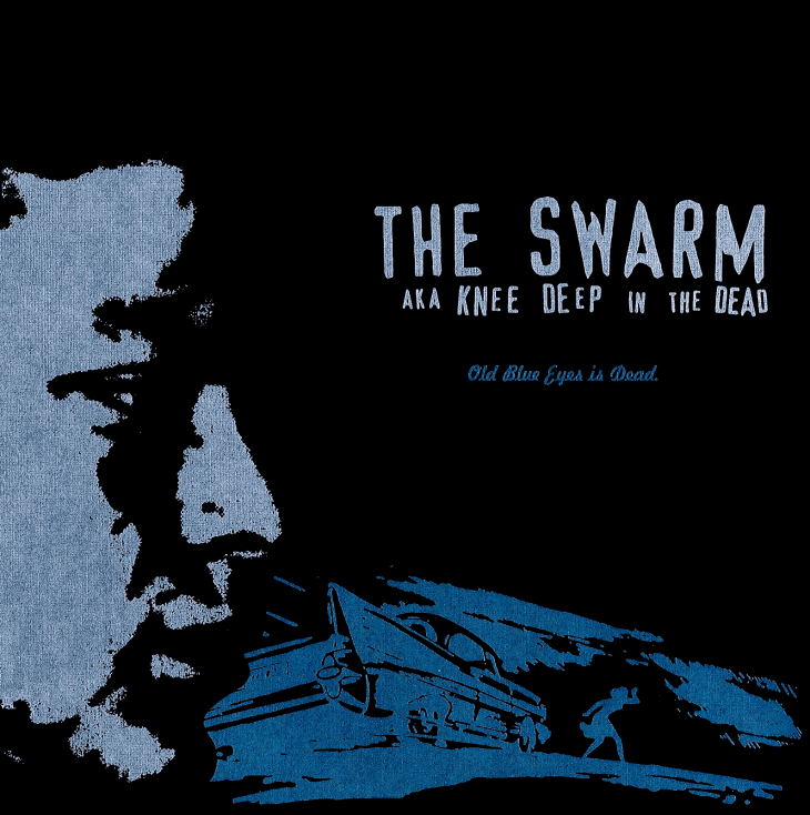 """The Swarm aka Knee Deep in the Dead's EP """"Old Blue Eyes Is Dead"""". No Idea Records, December 1999"""