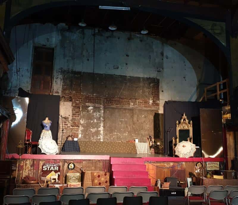 The stage of the Britannia Panopticon, Glasgow