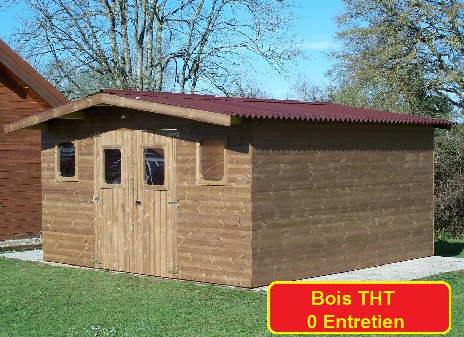 abri de jardin bois tht 15 m2 arkansas