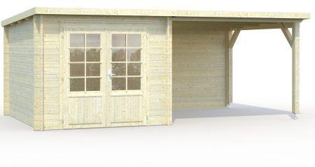 abri de jardin de 6 9 m toit plat avec