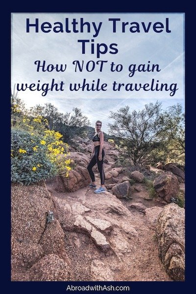 staying healthy while travelling