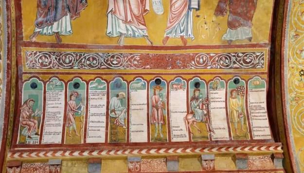 Gli affreschi di Bominaco