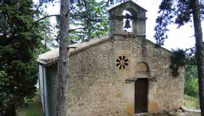 Bominaco - L'Oratorio di San Pellegrino