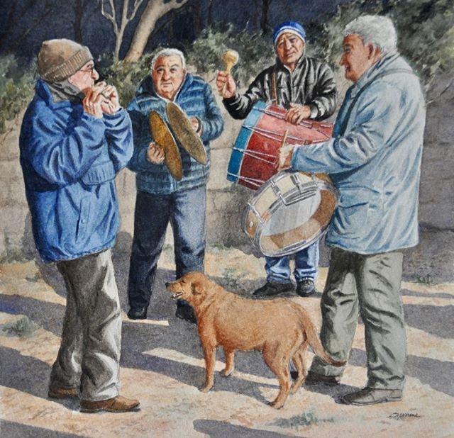Sam Dunham's Life in Abruzzo