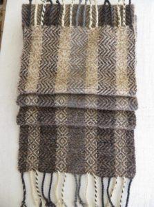 Sciarpa lana abruzzese