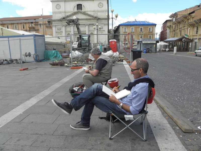 Piazza Duomo, L'Aquila