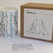 Mug Lupo Abruzzo Creativo