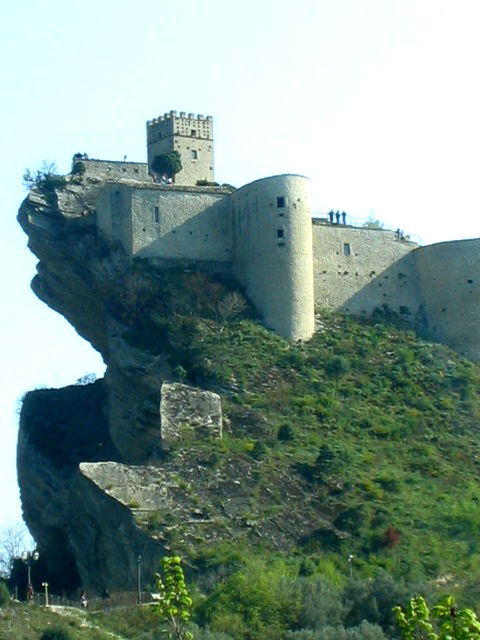 Roccascalegna Castle Around Lanciano In Abruzzo Day Trips