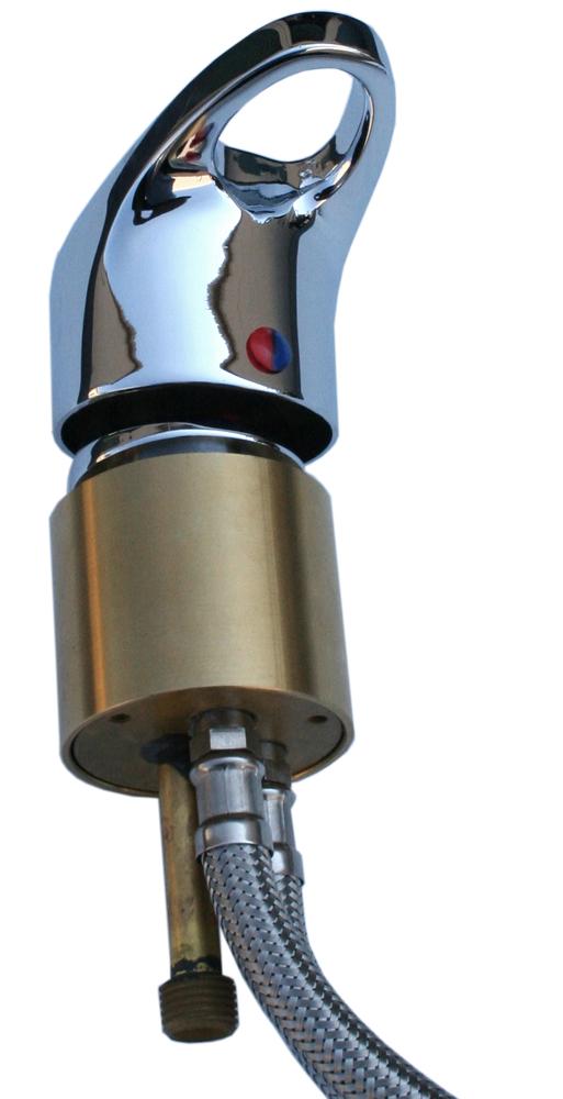 belvedere 522a 14 single handled faucet fixture for shampoo bowls