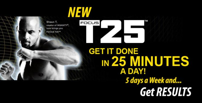 Focus T25 Workout - Results & Download | Home Workout Programs