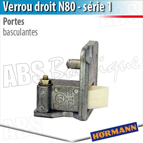 Verrou Porte Basculante Debordante Hormann Serie 1 Droit