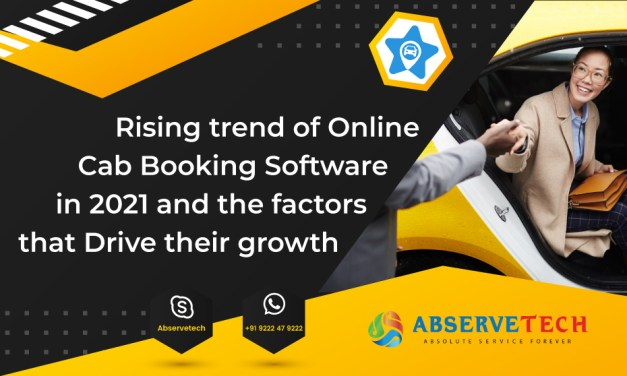 Rising trend of online cab booking software in 2021 and the factors that drive their growth