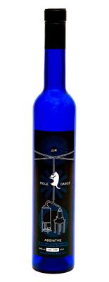 L'absinthe JJR dans son habit bleu