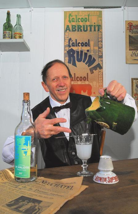 The absinthe ritual