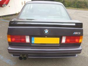 BMW E30 M3 Evo inner spoiler 2