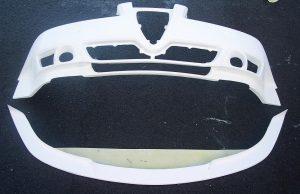 BTCC Alfa Front Bumper & Splitter