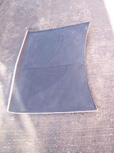 Clubman Carbon Composite Bonnet inner 2
