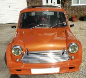 Turbo Kit Front Orange